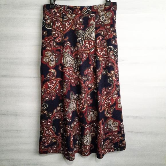 Worthington's Dresses & Skirts - 2/$30 ❤ Vintage Paisley Skirt